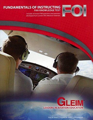 9781581946475: Gleim Fundamentals of Instructing FAA Knowledge Test Book 2016