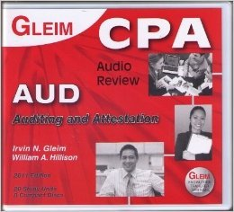 9781581947212: Gleim C P A Audio Review. Auditing and Attestation