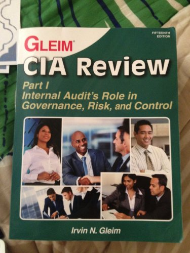 9781581947588: CIA Review: Internal Audit Role in Governance, Risk, And Control