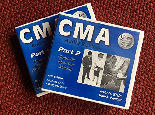 9781581948226: CMA Audio Review Part 1 15th Edition Financial Planning Performance and Control