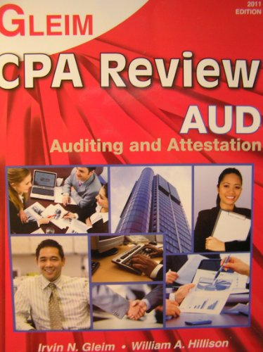 9781581948547: Gleim CPA Review Auditing and Attestation