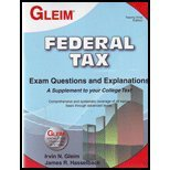 9781581949315: Federal Tax Exam Questions and Explanations