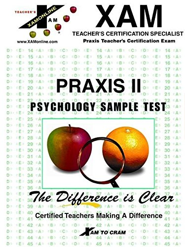 9781581970258: Praxis : Psychology Sample Test (Praxis Series)