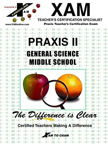 Praxis II General Science Middle School (Praxis: Benson, Kelly, Slygh,