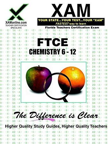 9781581970999: FTCE Chemistry 6-12: teacher certification exam (XAM FTCE)