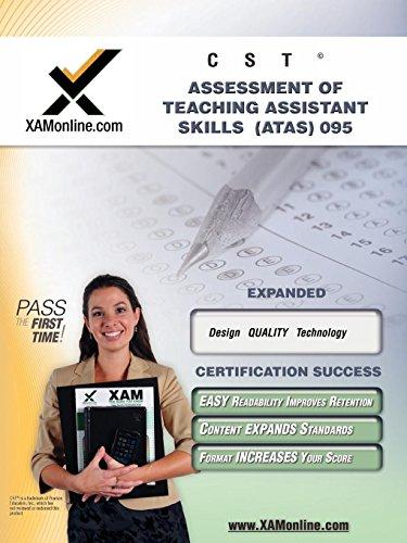 NYSTCE ATAS Assessment of Teaching Assistant Skills 095: teacher certification exam (XAMonline ...
