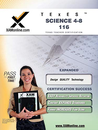 9781581972979: TExES Science 4-8 116 Teacher Certification Test Prep Study Guide (XAM TEXES)
