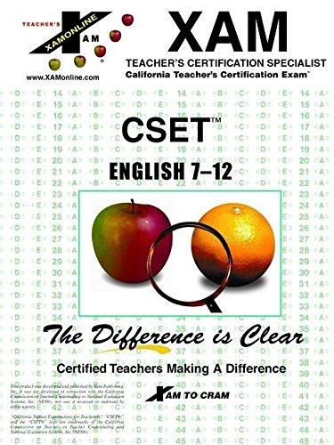 9781581973778: CSET English 7-12