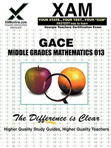 9781581975437: GACE Middle Grades Mathematics 013