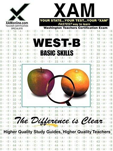 9781581975505: WEST-B Reading, Mathematics, Writing