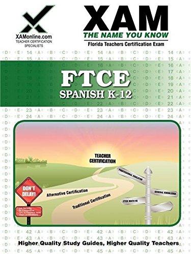 9781581975833: FTCE Spanish K-12 Teacher Certification Test Prep ...