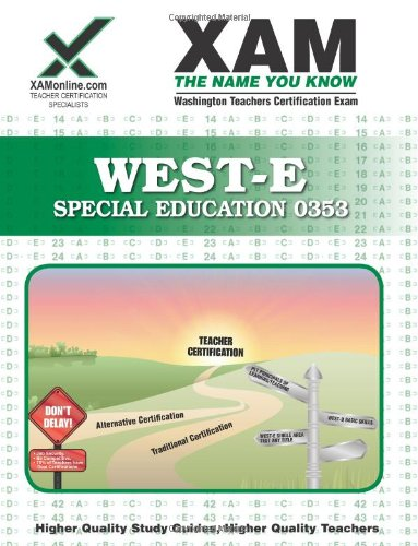 9781581976397: WEST-E Special Education 0353 Teacher
