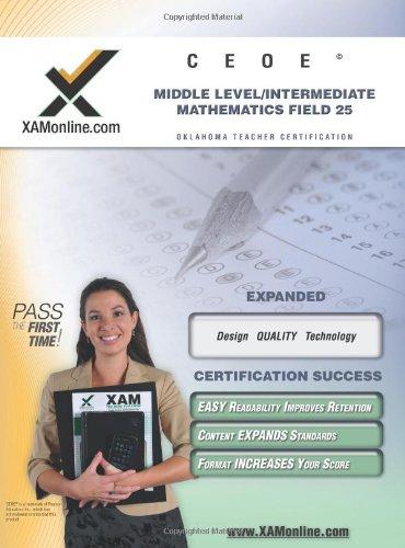 9781581976472: CEOE OSAT Middle-Level Intermediate Mathematics Field 25 Teacher Certification Test Prep Study Guide (XAM OSAT)