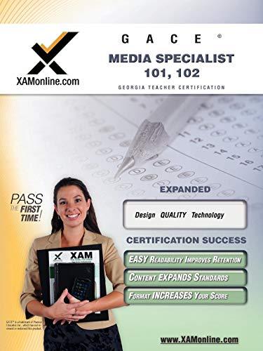 9781581977240: GACE Media Specialist 101, 102 Teacher Certification Test Prep Study Guide (XAM GACE)