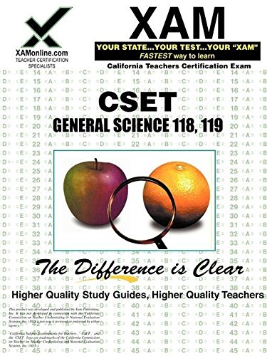 9781581978087: CSET General Science 118, 119 (XAM CST (Paperback))
