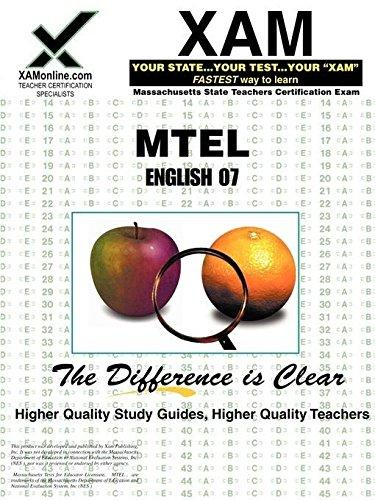 9781581978797: MTEL English 07 (XAM MTEL)