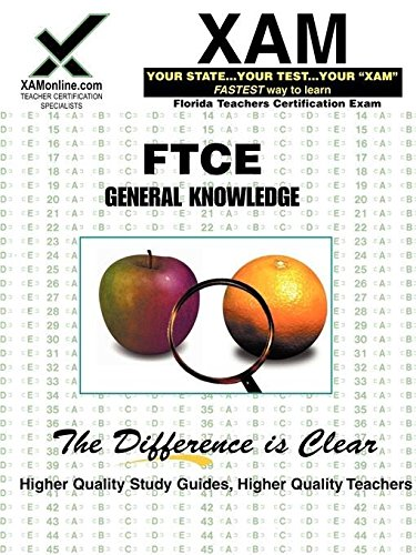 9781581979022: FTCE General Knowledge