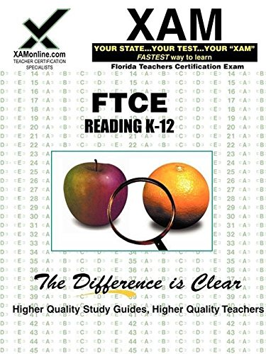 9781581979091: FTCE Reading K-12: Teacher Certification Exam (XAM FTCE-Florida)