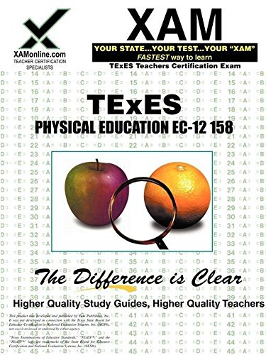 9781581979435: TExES Physical Education EC-12 158