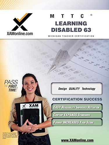 9781581979534: MTTC Learning Disabled 63 Teacher Certification Test Prep Study Guide (XAM MTTC)