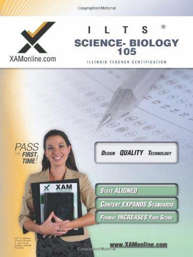 9781581979787: ILTS Science-Biology 105 Teacher Certification Test Prep Study Guide