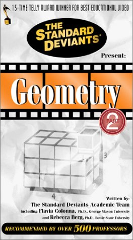 9781581980486: The Standard Deviants: Geometry, Part 2 [VHS]