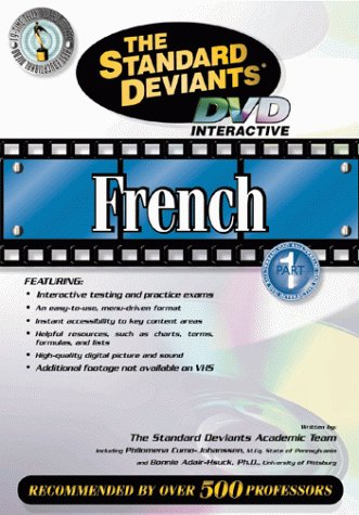 9781581983104: The Standard Deviants - French, Part 1