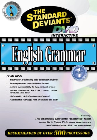 9781581983128: The Standard Deviants - English Grammar, Part 1