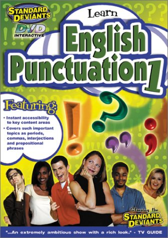 9781581983173: The Standard Deviants - English Punctuation, Part 1