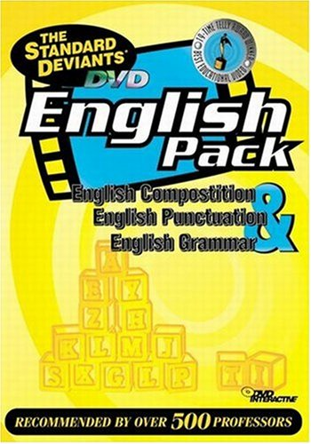 9781581983180: The Standard Deviants - DVD English Pack (Composition, Punctuation, Grammar)