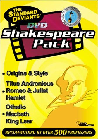 9781581983241: The Standard Deviants - DVD Shakespeare Pack