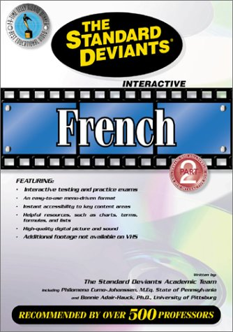 9781581983258: The Standard Deviants - French, Part 2