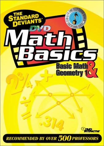 9781581983289: The Standard Deviants - Math Basics DVD 2-Pack (Basic Math, Geometry 1)