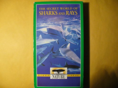 9781581991222: Nature:Secret World of Sharks and Ray [VHS]