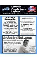 Kentucky Manufacturers Register 2012: Inc. Manufacturers' News