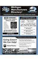 Michigan Manufacturers Directory 2013 (Paperback)