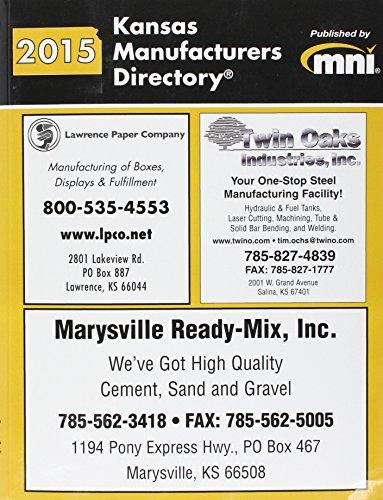 9781582028620: Kansas Manufacturers Directory 2015