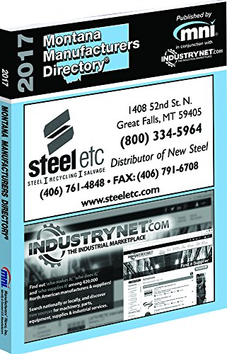 9781582029740: 2017 Montana Manufacturers Directory