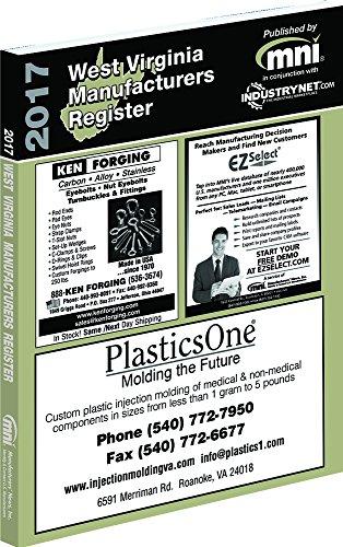 9781582029955: 2017 West Virginia Manufacturers Register