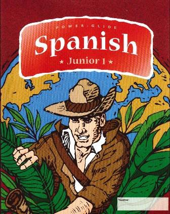 9781582042626: Power-Glide Spanish Jr. Level 1 Course for 5th to 7th grade