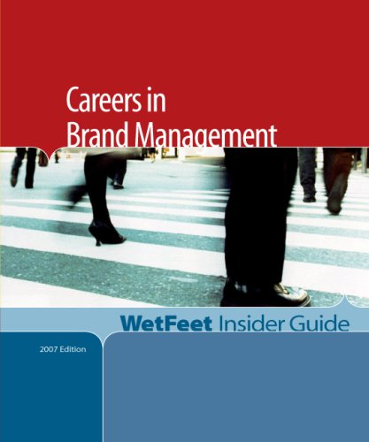 9781582076522: Careers in Brand Management (WetFeet Insider Guide)