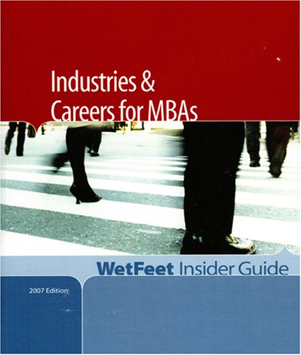 9781582076768: Industries and Careers for MBAs