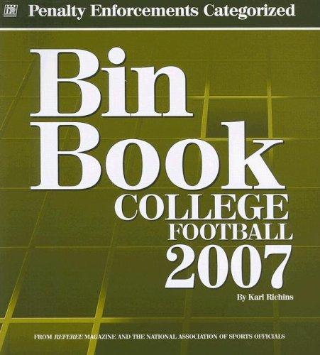 9781582080895: Bin Book: College Football Penalty Enforcements Categorized