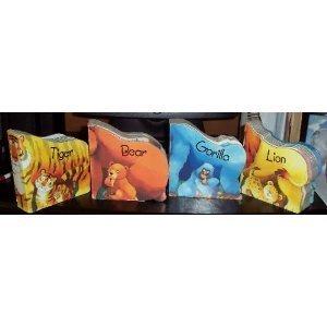 9781582090634: Chunky Animals: Lion, Tiger, Bear, Gorilla Boxed Set