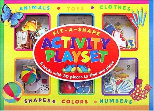 9781582092553: Fit-a-Shape Activity Playset