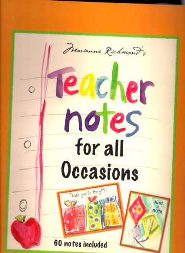 9781582098548: Marianne Richmond's Teacher Notes for all Occasions by Marianne Richmond (2007-05-04)