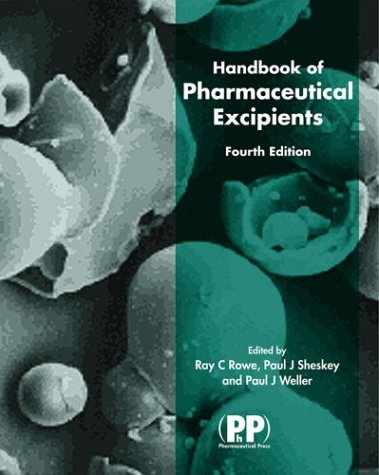9781582120225: Handbook of Pharmaceutical Excipients, 4th Edition
