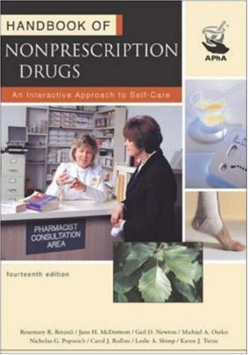 Handbook of Nonprescription Drugs: Rosemary R. Berardi,