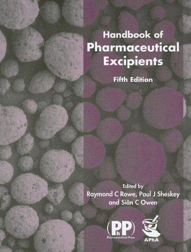 9781582120584: Handbook of Pharmaceutical Excipients