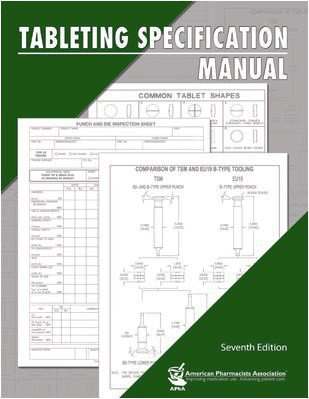 9781582120782: Tableting Specification Manual